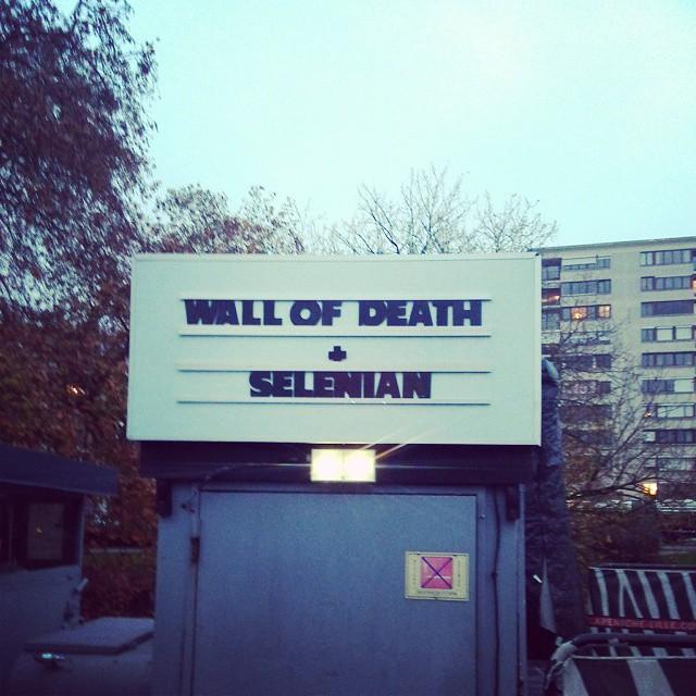 Wall Of Death + Selenian - Péniche Lille